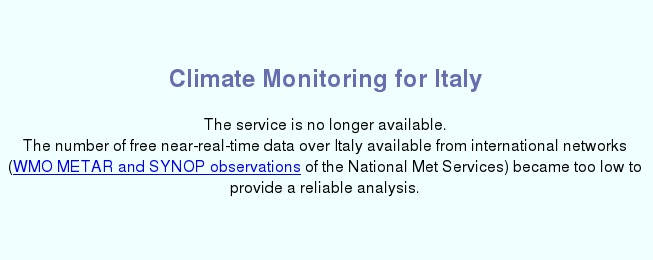 Anomalia Precipitativa Italia Luglio 2017