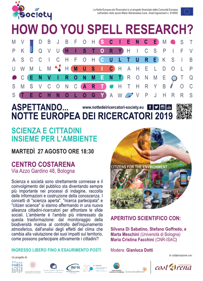 Locandina Citizen Science