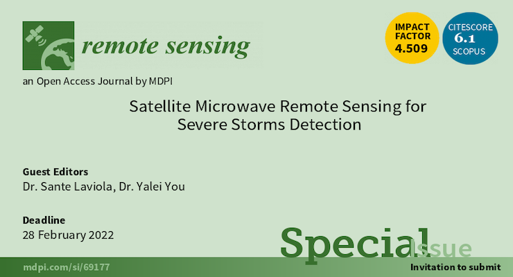 Banner of Remote Sensing of the Special Issue